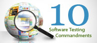 Ten Commandments of Software Testing