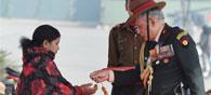 Lance Naik Hanamanthappa Awarded Sena Medal