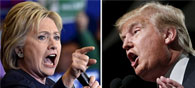 Clinton Pips Trump In Two New Opinion Polls