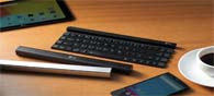 A Stick Like Foldable Bluetooth Keyboard