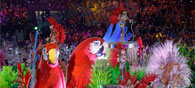 A Glittering Closing Ceremony Brings Rio Olympics to an End