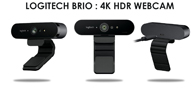 Logitech Launches 4K-Enabled 'BRIO' Webcam At Rs.24,995