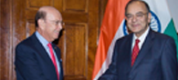 Arun Jaitley Meets U.S. Commerce Secretary, Raises H-1B Visa Issue