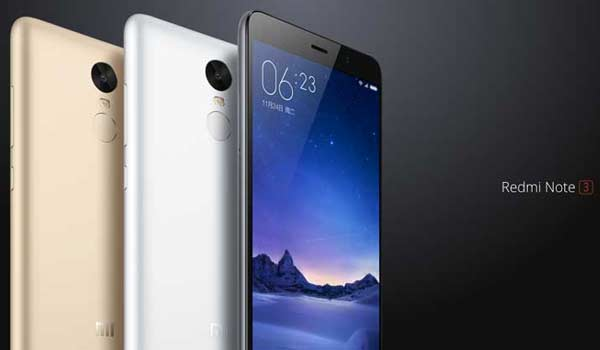 Xiaomi Unveils Redmi Note 3 With A Full Metal Body