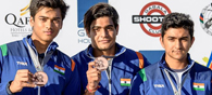 Indian Shooters Finish Second In Junior World Cup