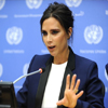Victoria Beckham Speaks At UN About Children With HIV
