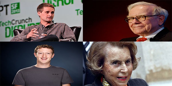 Tech Billionaires to Retail Moguls: 7 Personalities in Every Decade