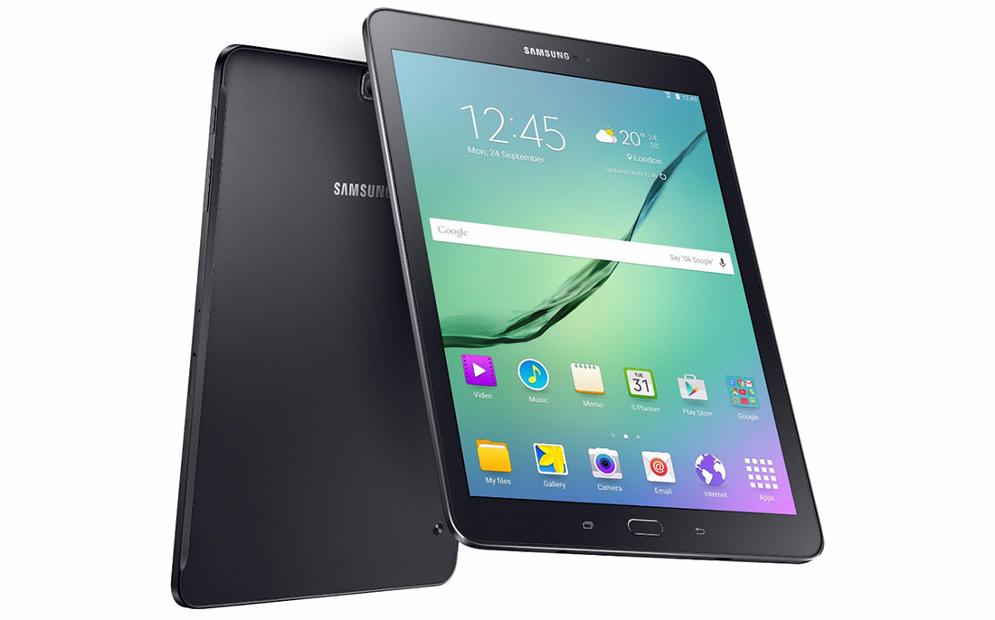 Samsung Launches World's Slimmest Tablet Galaxy Tab S2