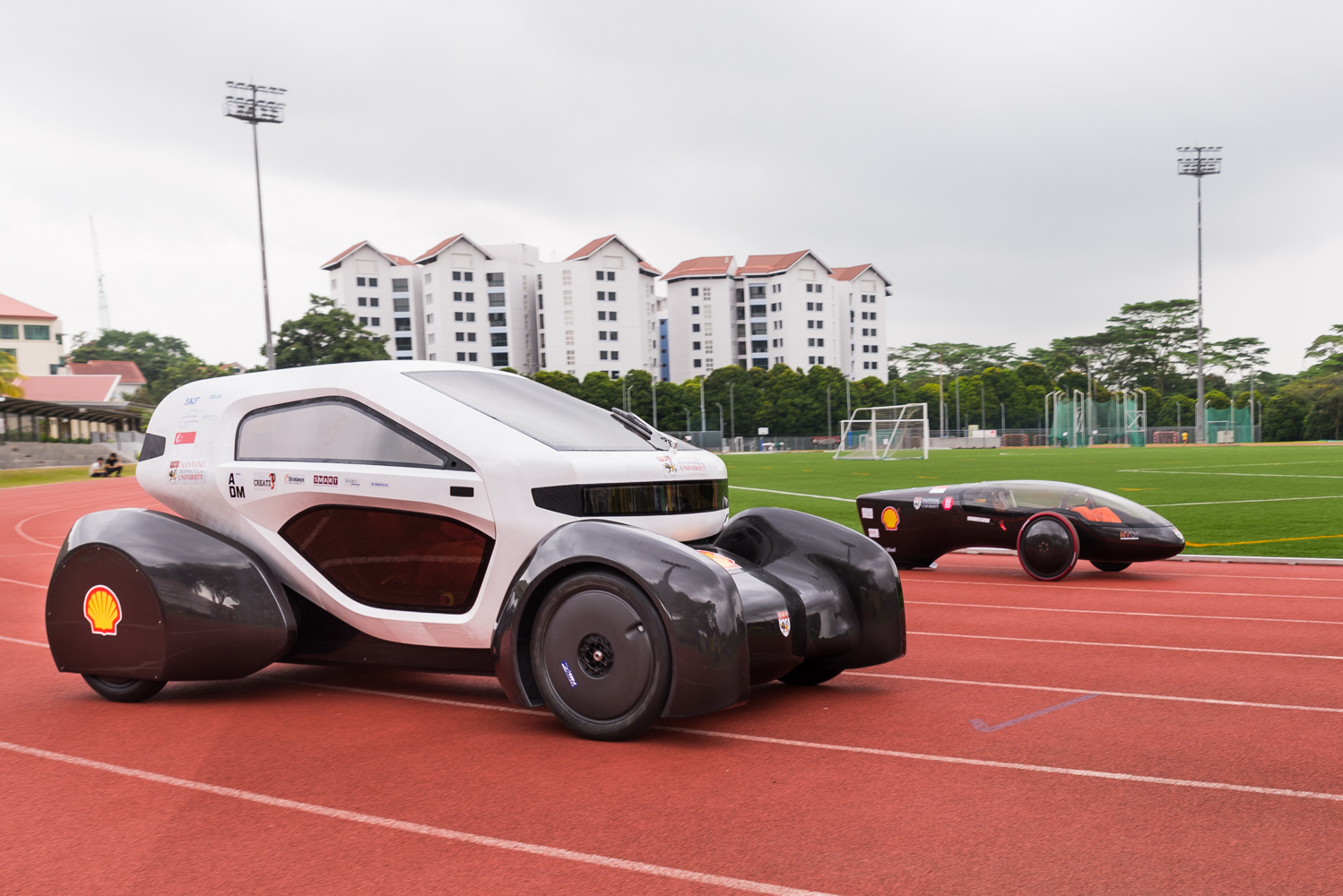Singapore's first 3-D-printed concept car developed