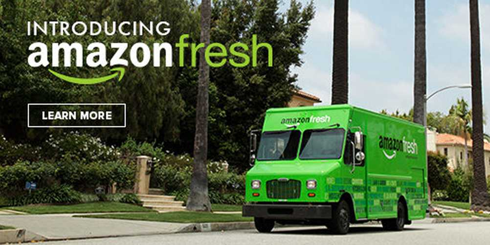 Amazon Plans To Involve Grocery Stores In Its Network