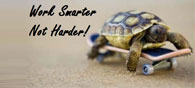 Work Smarter than Heavier