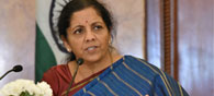 Indian Economy Grew 7.1 Pct In First Half Of FY17: Sitharaman