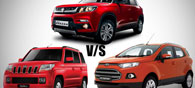 Fight of the Gladiators: Vitara vs Ecosport vs TUV300