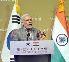 Modi Asks Korean Companies To Deepen India Ties