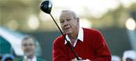 Golf Legend Arnold Palmer Plays his Last Put