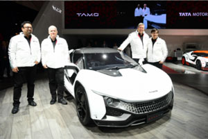 Tata Motors Unveils Sports Car RACEMO, Mkt Launch Seen In FY18