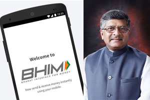 BHIM Downloads Reach 1.1 Crore; 4 Banks On Board For Aadhaar-Based System