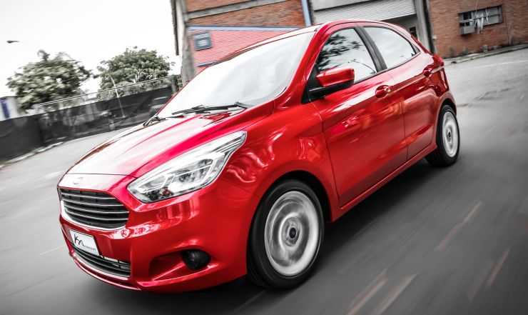 Ford's New Figo Hatchback To launch In India on Sept 23