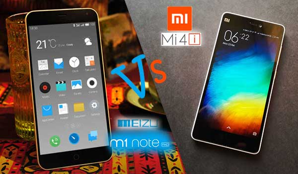 Chinese Battle On Indian Soil: Meizu M1 Note Vs Xiaomi Mi 4i