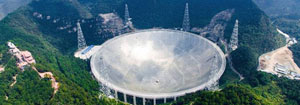 China Commissions World's Largest Radio Telescope