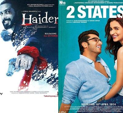 '2 States', 'Haider' Lead IIFA Nominations