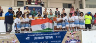 India Win Silver At The Asian Women\'s Rugby Sevens Trophy