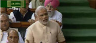 PM Modi Lauds Parliament's GST Approval, Thanks All Political Parties
