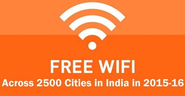 Modi's Big Digital Drive: 2500 Cities To Get Free 4G-Level Wi-fi