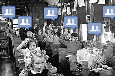Facebook Can Help Students Score Better