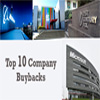 Top 10 Firms Repurchasing Their Own Stock