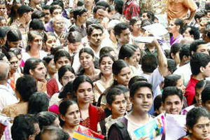 Admission Rush for Engineering Courses