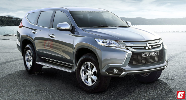 New Pajero Sport To Launch In 2017, To Take On Ford Endeavour and Fortuner