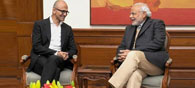 Nadella's Visit to India: 7 Things He Said