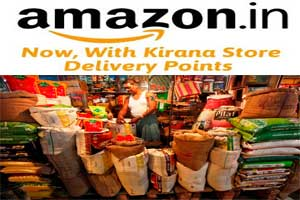 Why E- Retailers like Amazon & Others Are Wooing Kirana Stores?