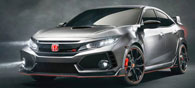 Honda Unveils the Next-Generation Civic Type R at Paris Motor Show