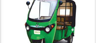 Kinetic Electric Launches Lithium Ion Battery Three-Wheeler