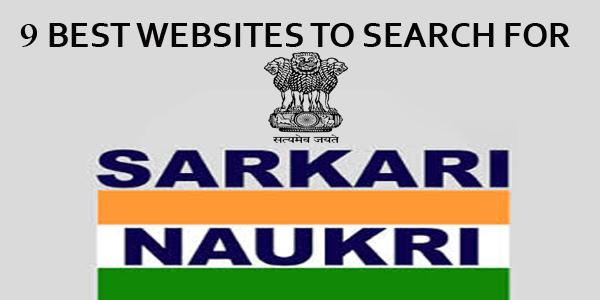 Top 9 Websites To Search Latest Govt Jobs in India
