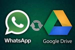 Now Google Drive Backsup Whatsapp Data