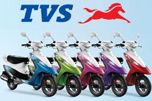 TVS Trumps Hero To Become 2nd Largest Scooter Maker
