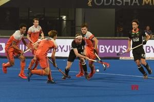 Hockey WC 2018 : Germany thrash Netherlands to top Pool D