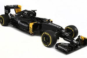 Renault Unveils New Formula One Car