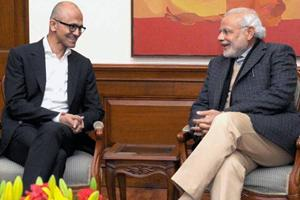 Nadella Unveils 'Project Sangam', 'Made For India'