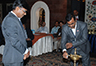 Lighting of the Lamp by Mr. Shantanu Mazumder