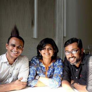 Arunkumar Deivanayagam, Adwitha Suvarna, & Swapnil Valvatkar - Studio Heads,