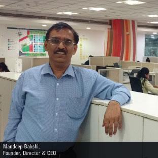 Mandeep Bakshi,Founder, CEO & Director
