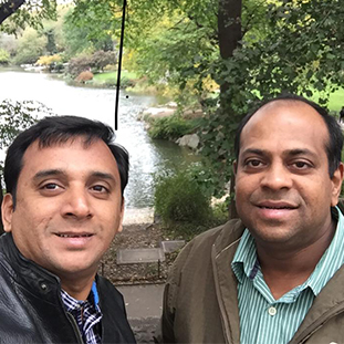 Ramaswamy Subramanian& Krishnan Subramanian,Co-Founders