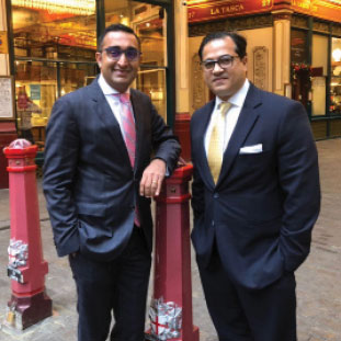 (L) Asheesh Mehra, Co-Founder & Chief Everything Officer ,(R) Govind Sandhu, Co-Founder & Chief Financial Officer
