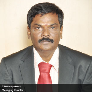 U Arumugasamy,Managing Director