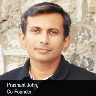 Prashant John,Co-Founder & CEO