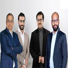 Avinash Raghav, CEO & MD ,Abhishek Shukla, CIO, Pranay Agrawal, COO